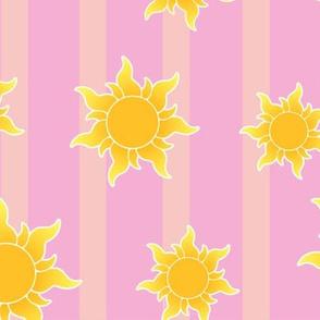 Princess Suns Striped Large