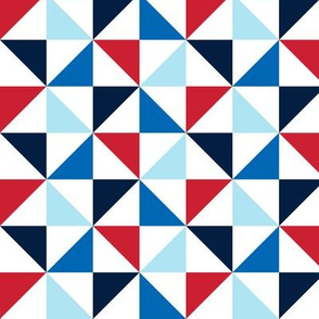 pinwheels lg red white and blue || independence day USA american fourth of july 4th