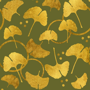 Ginkgo Gold on Olive