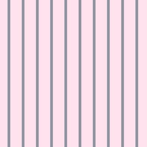 Pink and ash • stripes minimal pattern