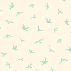 Birds in Flight Mint