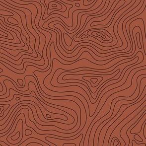 Fingerprint of the Land - Rust and Black - ©Autumn Musick 2020