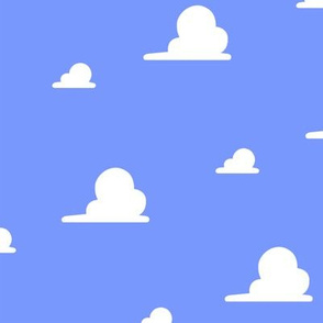Toy Clouds Wallpaper Large