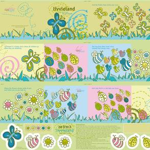 Livvieland Cloth Book