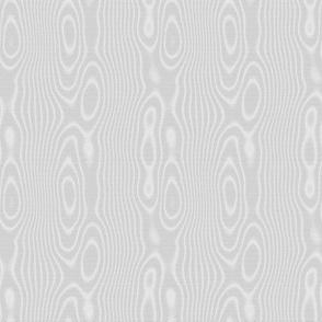 faux moire silk - pale grey