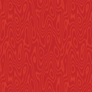 faux bois moire - ruby red