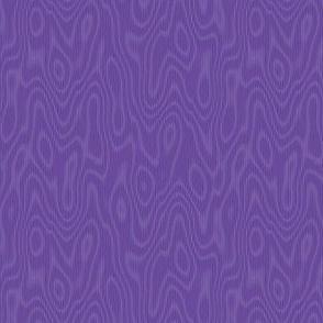 faux bois moire - royal purple