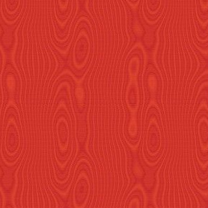 faux silk moire - ruby red