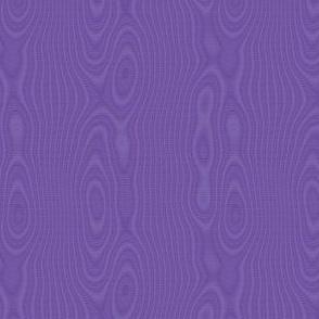 faux silk moire - royal purple