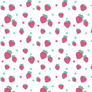 Strawberries kawaii