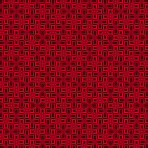 Quilting in Red Design No 6