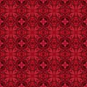 Quilting in Red Design No 5