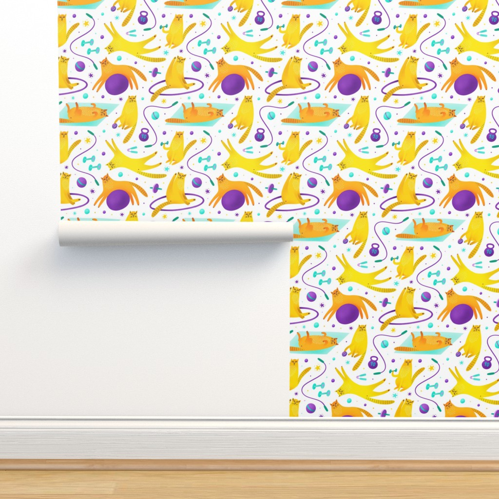 Isobar Durable Wallpaper featuring Kittness  by julia_gosteva
