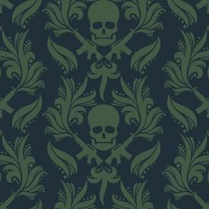 Damask skulls, Swamp