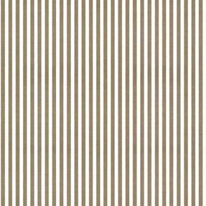 Denim Stripes . River Bottom White Chambray