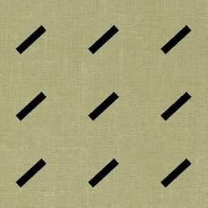 Dash Dash Linen . Lichen