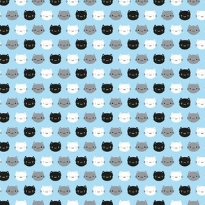 Mini Cute Cats & Kawaii Kittens (Blue)