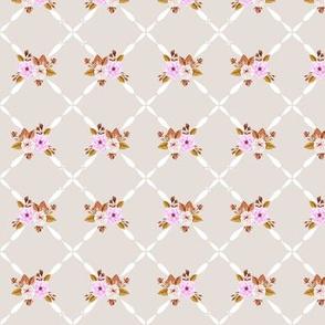 Charlotte Farmhouse Rose Diamond Cotton