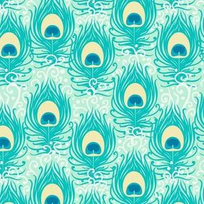 Jasmine peacock feathers