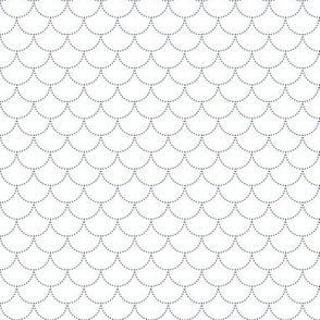 Scales wavy pattern