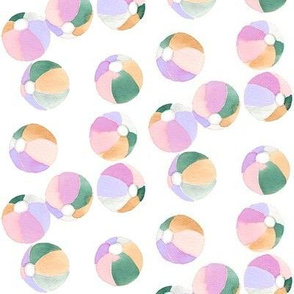 tropics beach balls purple tropics collection