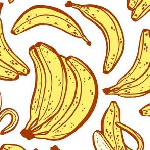 bananas - large scale