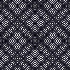 Black White Squares  (3V)