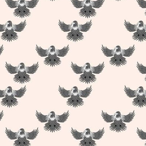 Little eagle desert freedom bird king of the sky kids summer design sand beige gray