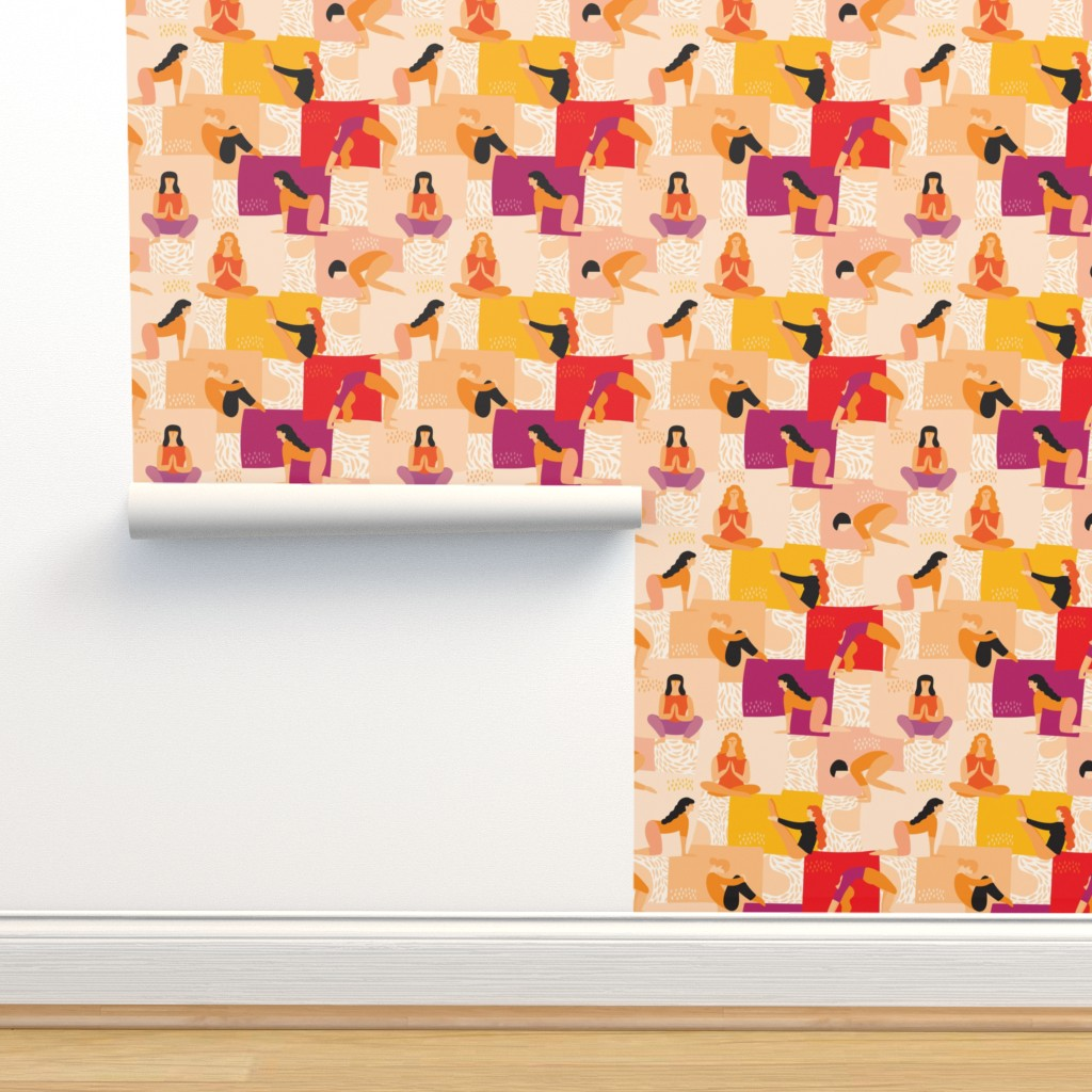 Isobar Durable Wallpaper featuring Fitness by boszorka