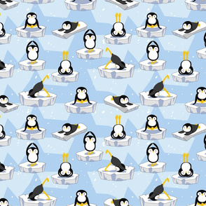 Penguin yoga