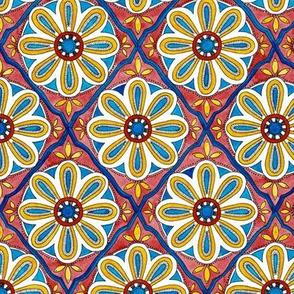 Moroccan Tile - sapphire