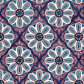 Moroccan Tile - amethyst