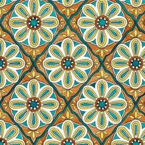 Moroccan Tile - emerald