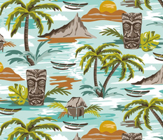Lost Paradise - Jumbo Scale Aqua