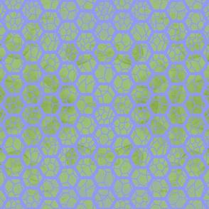 Lattice - green and purple