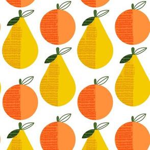 Peachy Keen - peaches and pears