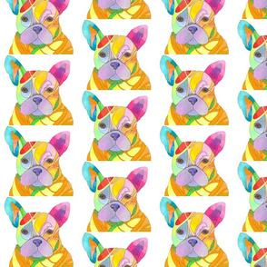 French Bulldog - Pop Goes the Princess - Pop Art