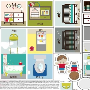 """Repeat"": Interactive Cloth Baby Book"