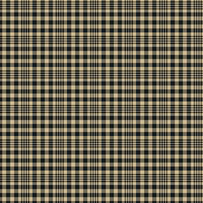 The Gold and the Black_Mini Plaid