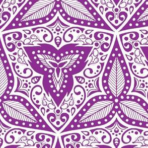 Hiding Mice - Purple