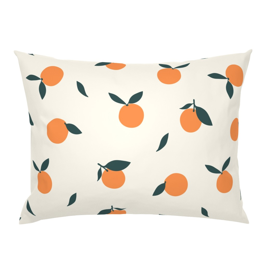 Campine Pillow Sham featuring Clementine_Ivory by kimsa