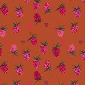 Garden Party Raspberries in Russet