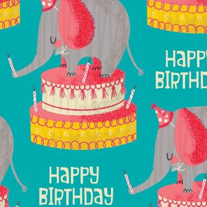 Party Elephant - larger scale