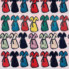 a dress in every color PINK