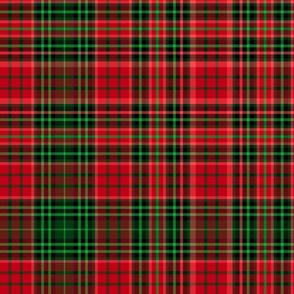 Christmas tartan based on Ogilvie (red/green)