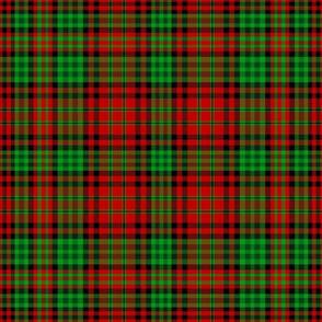 Christmas tartan based on Ogilvie red yellow