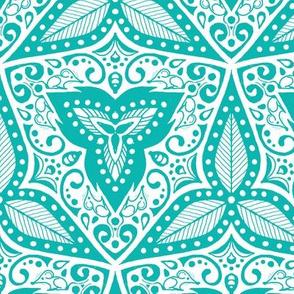 Hiding Mice - Turquoise