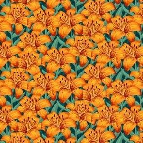 Orange Tiger Lillies - Small