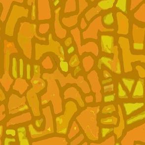 Batik - Mosaic - Goldenrod