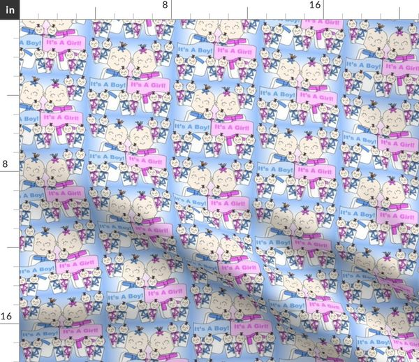 Colorful fabrics digitally printed by Spoonflower - Baby Boys and Baby  Girls Swaddling Fabric